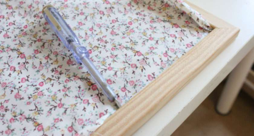 Make Yourself Fabric Covered Noticeboard Josie Makes