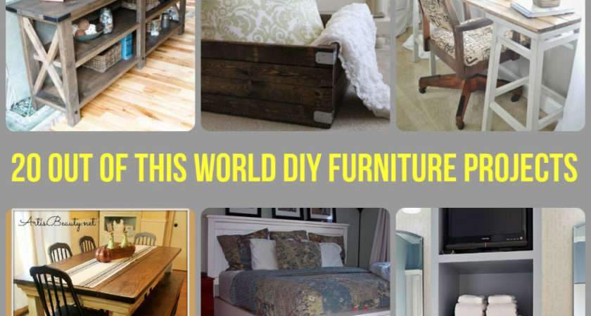 Making Your Own Furniture May Seem Intimidating Hard But Doesn