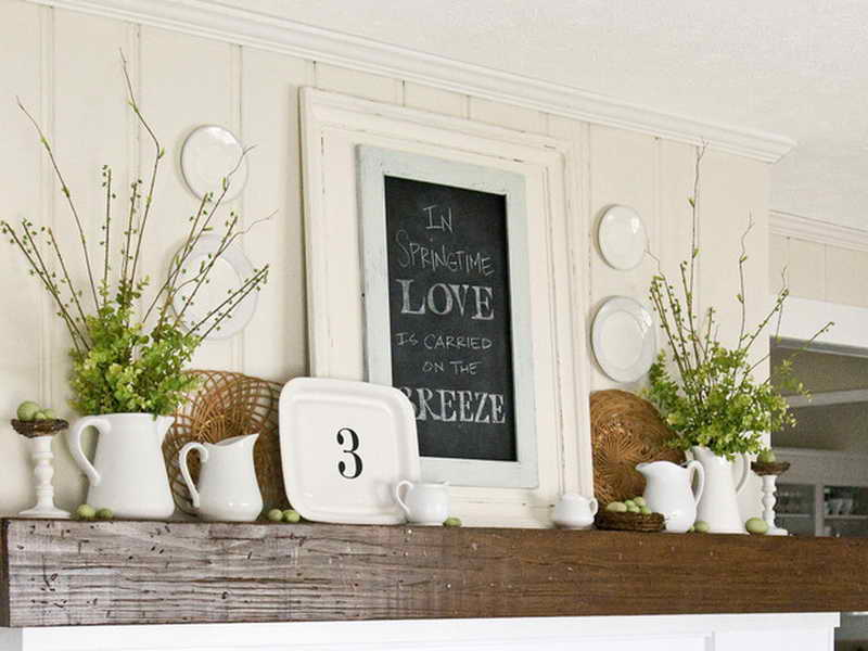Mantels Christmas Mantel Decorations White Fireplace
