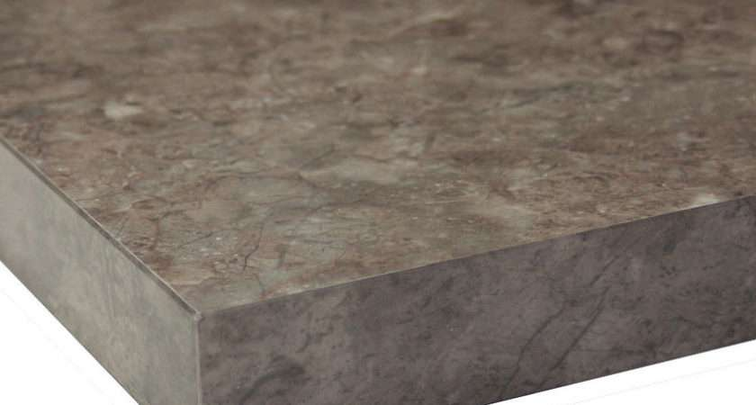 Marble Granite Style Gloss Square Edge Laminate