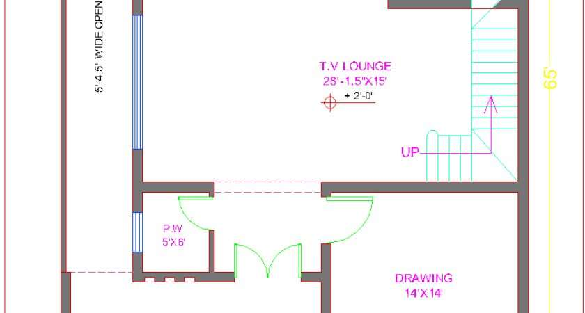 Marla House Layout Plan Home Deco Plans