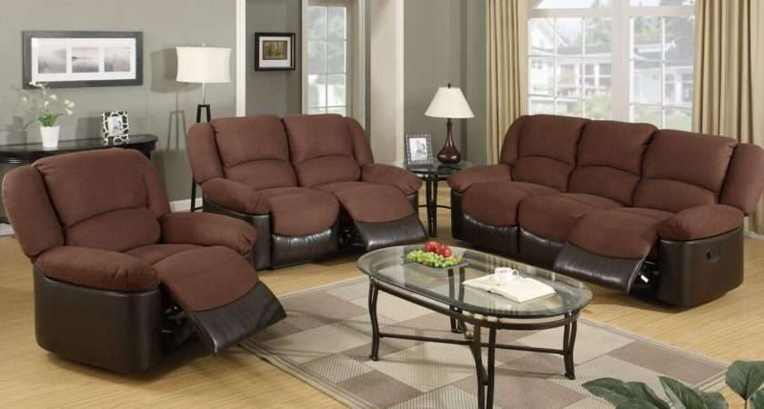 Marvellous Living Room Brown Furniture Grey Wall Color