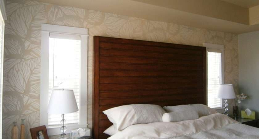 Master Bedroom Feature Wall Tropical Vancouver