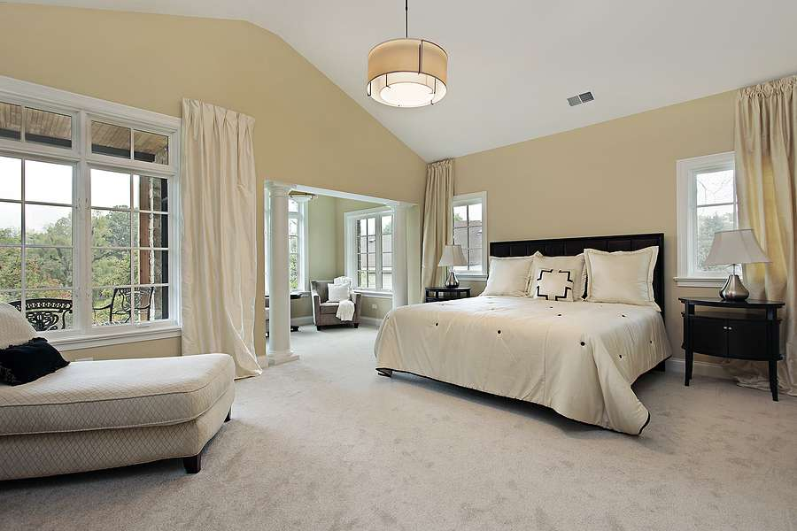 Master Bedroom Luxury Condominium Sitting Room