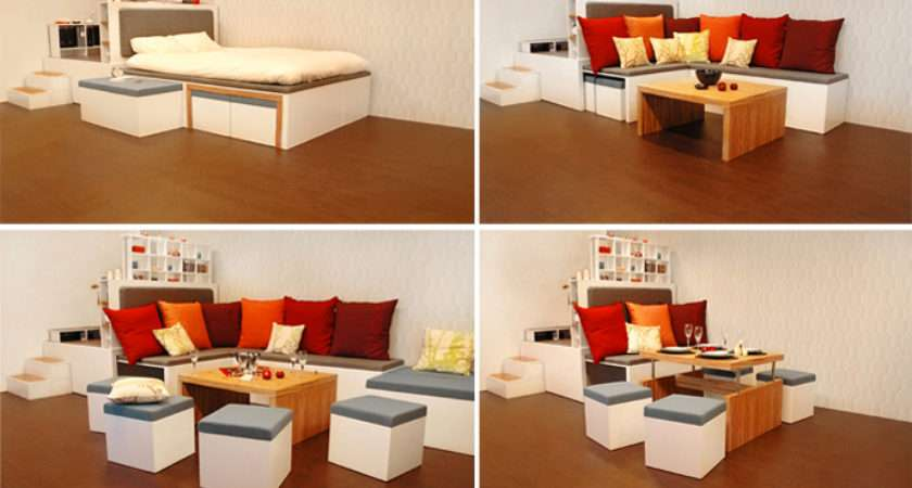 Matroshka Furniture Compact Living Perfect Small Spaces