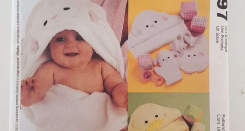 Mccall Crafts Baby Room Essentials Hooded