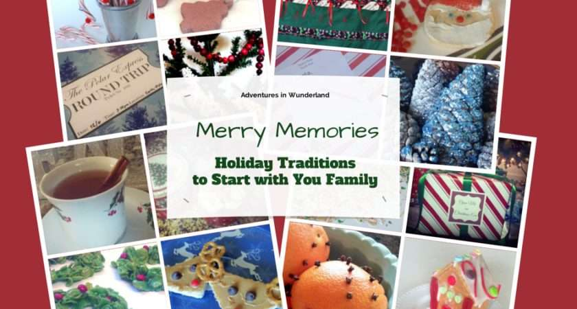 Merry Memories Holiday Traditions Start Your Book