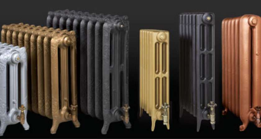 Metallic Colours Cast Iron Radiators