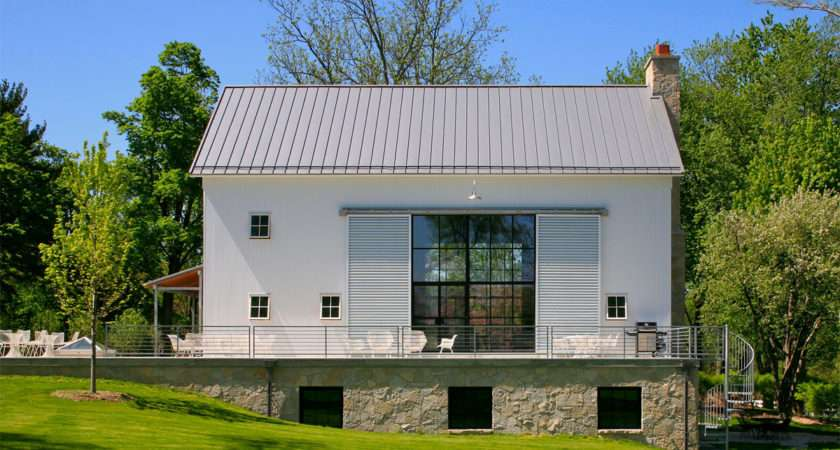 Michigan Barn Conversion Northworks Architects Planners Exteriors