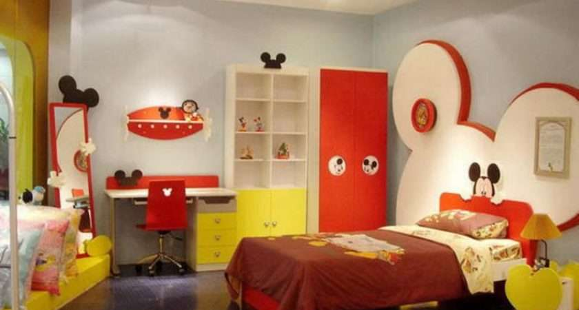 Mickey Mouse Themed Kids Room Designs Furniture Kidsomania