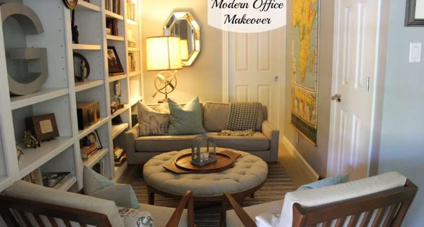Mid Century Modern Office Makeover Dream Book Design
