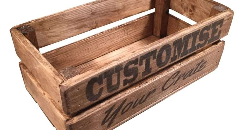 Mini Personalised Wooden Crate Deadraven Manufacturing