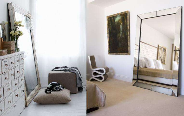 Mirror Against One Walls Instant Interest Style Added