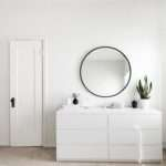 Mirrors Round Circular Mirror Minimal Bedroom Simple