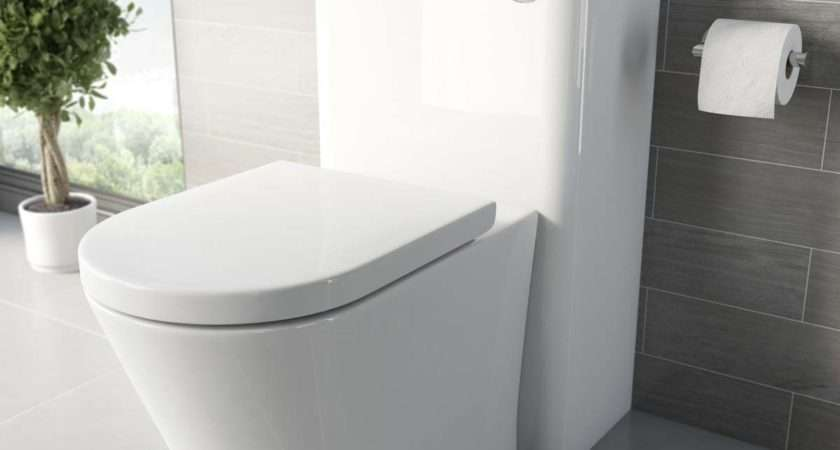 Mode Arte Back Wall Toilet Luxury Soft Close
