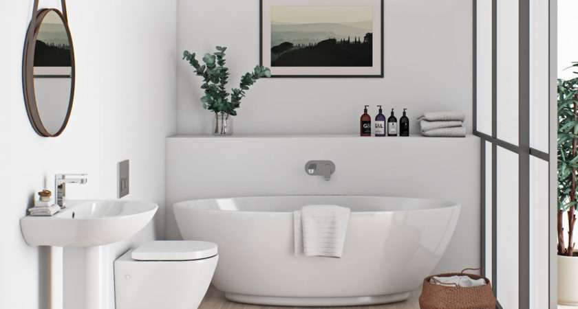 Mode Harrison Bathroom Suite Freestanding Bath