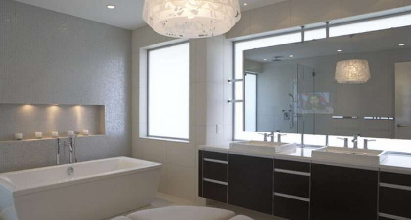 Modern Bathroom Mirrors Decorate Your Home Improvement