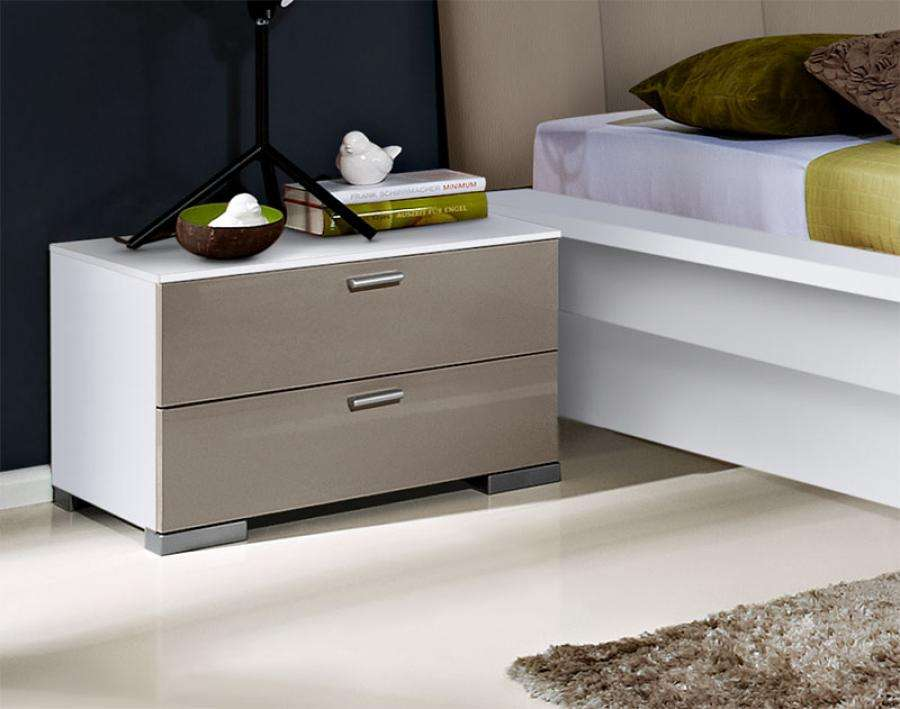 Modern Black Bedside Tables Bedroom Contemporary Furniture