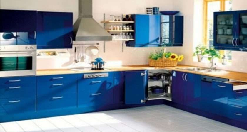 Modern Blue Kitchen Design Ideas Interior