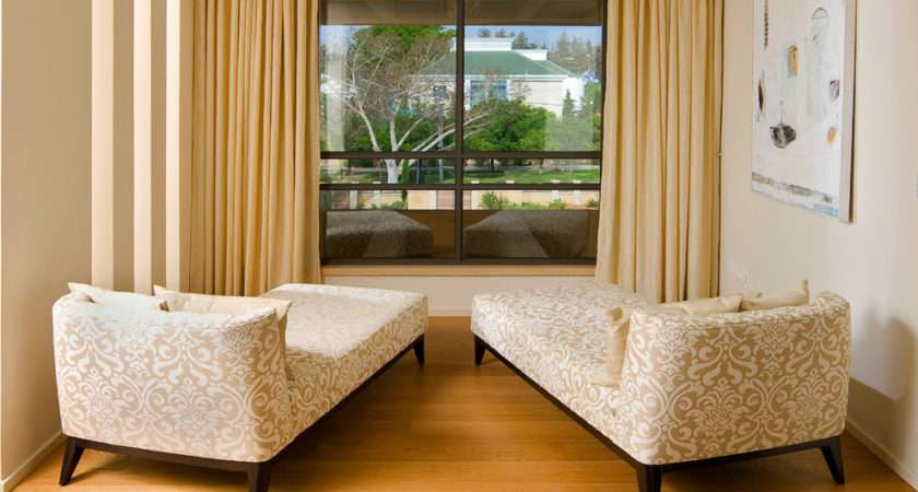 Modern Chaise Lounge Living Room Contemporary Beige Floor Tile