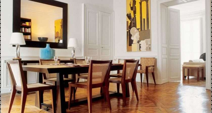Modern Dining Room Interior Design Ideas Retro