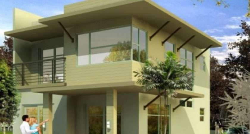 Modern Exterior Painted Houses Simple Home Decoration Tips