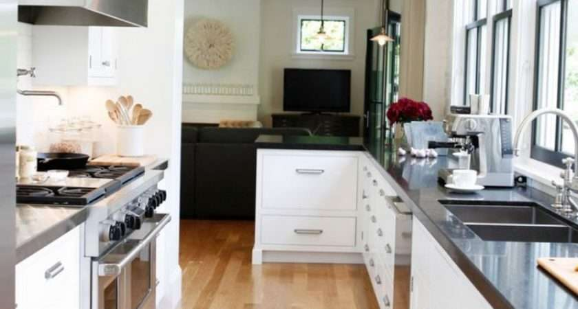 Modern Farmhouse Rue Mag Galley Kitchens Everywhere Move