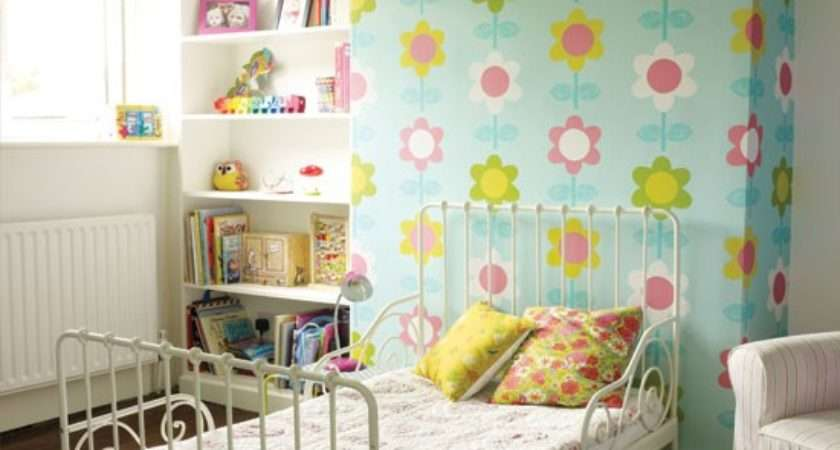 Modern Floral Girl Bedroom Childrens Room