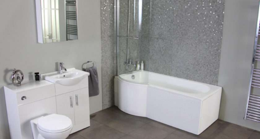 Modern Grey Better Bathrooms Bathroom Mosaic Tiles