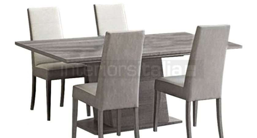 Modern Italian Dining Set Futura Grey Sale