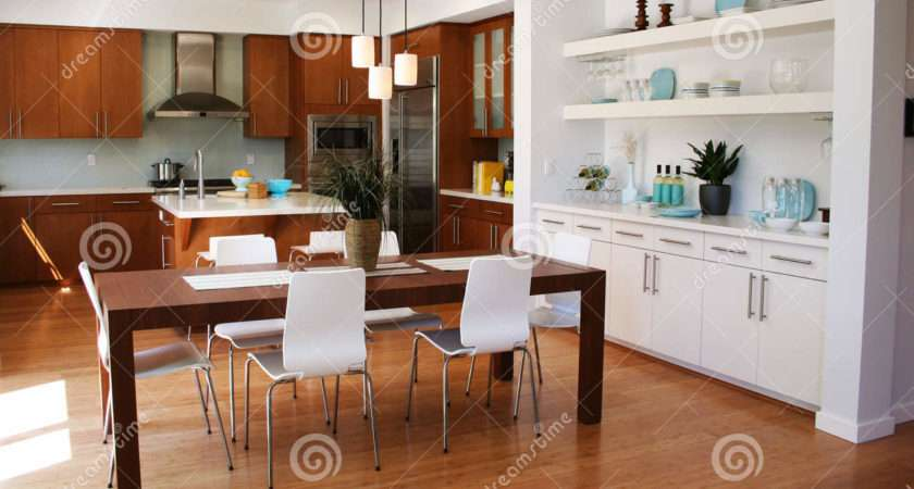 Modern Kitchen Dining Area