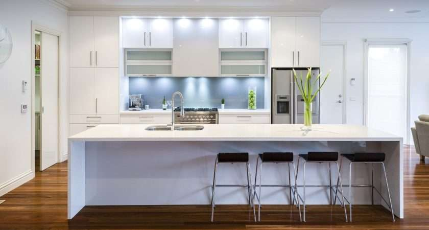 Modern Kitchens Grasscloth