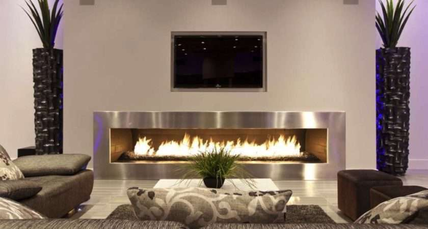 Modern Living Room Ideas Fireplace