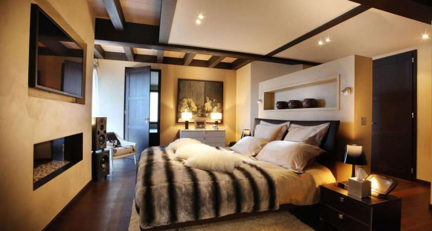 Modern Master Bedroom Designs Couples Home Combo