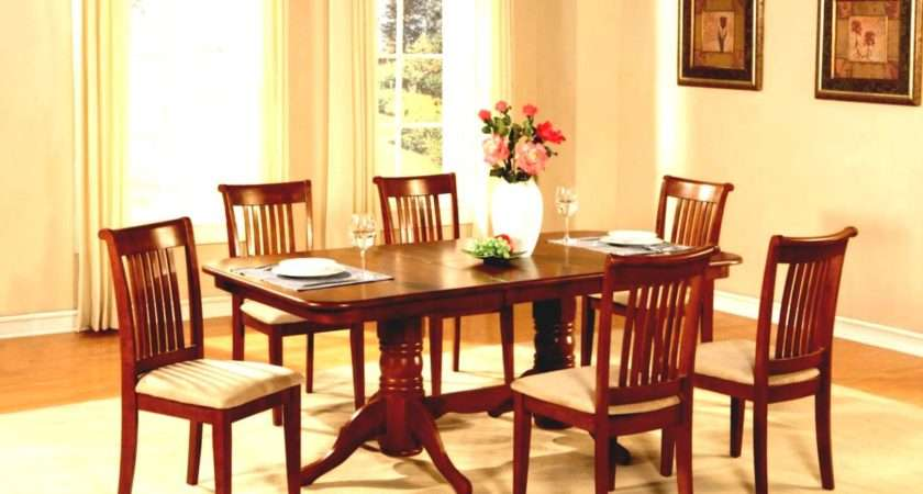 Modern Simple Dining Room Cool Wooden Table Set