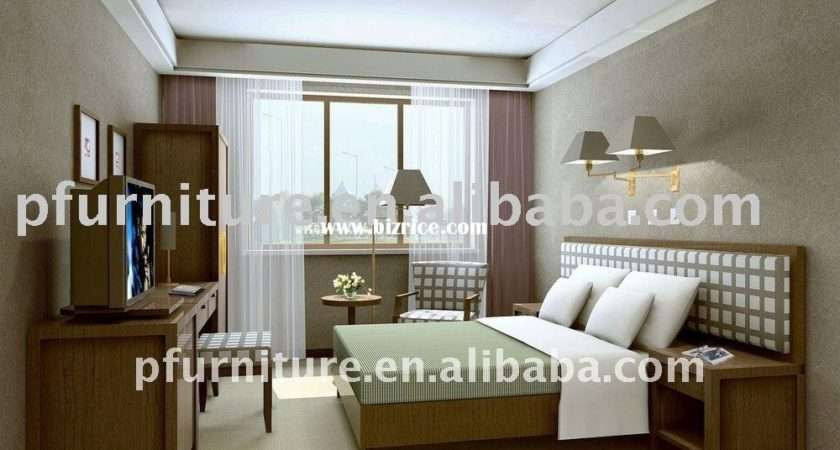 Modern Style Hotel Queen Bedroom Furniture Studio Pfg China