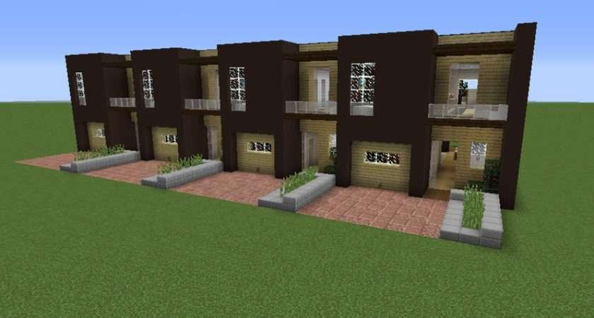 Modern Terraced House Grabcraft Your Number One Source