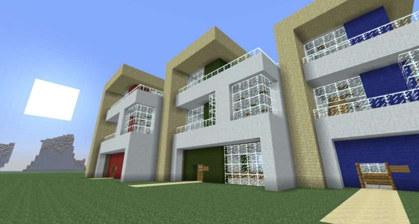 Modern Terraced House Project Minecraft