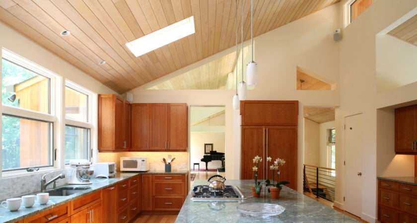 Modern Vaulted Ceiling Lighting Ideas Chocoaddicts