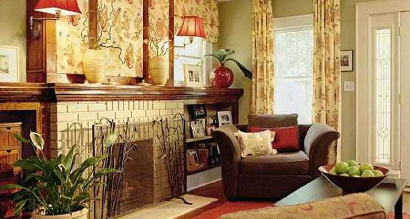 Modern Yellow Red Living Room Color Schemes Home Interior Design