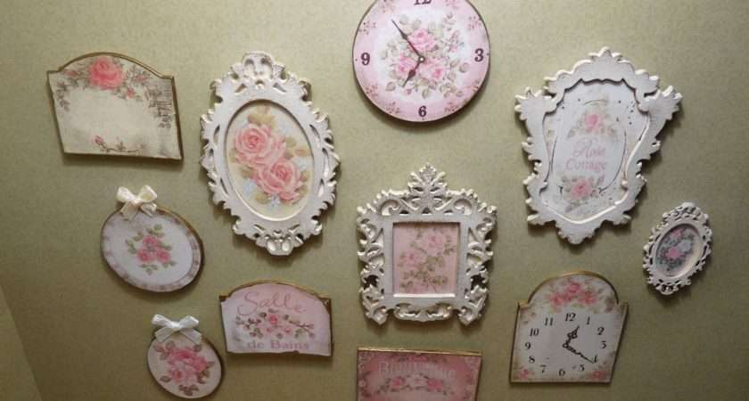 Mollysue Miniatures Shabby Chic Framed Prints Plaques