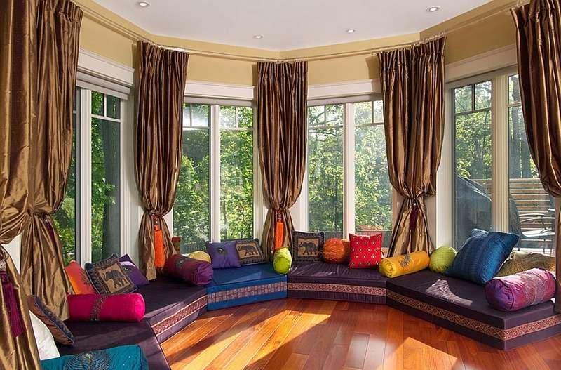 Moroccan Living Rooms Bring Home Exotic Flavor Vibrant