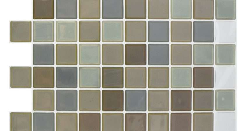 Mosaic Tile Stickers Bathroom Kitchen Transfers Transform