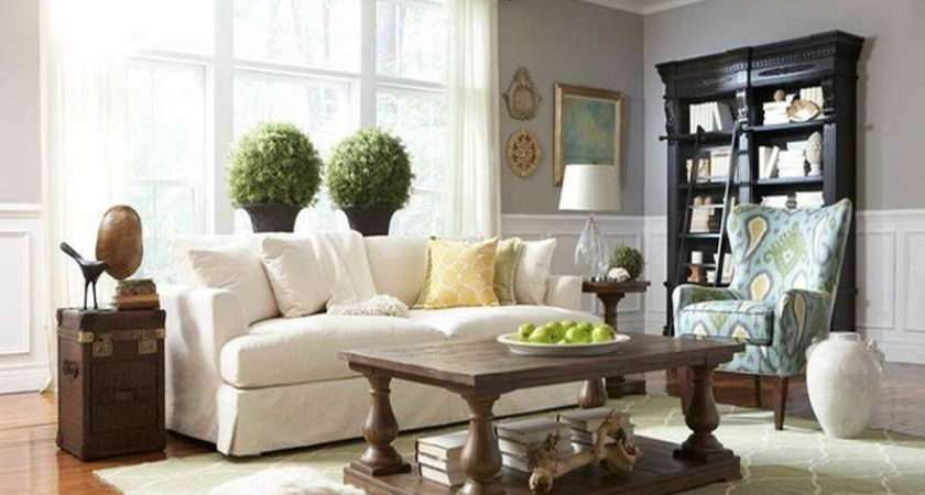 Most Popular Grey Paint Colors White Sofa