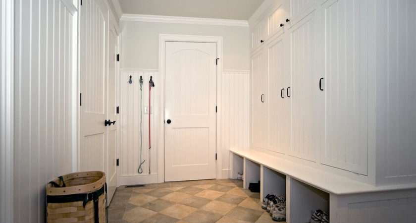 Mostly White Room Storage Lockers Shoe Cubbys Right Coat