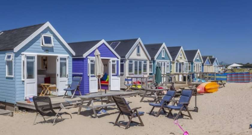 Mudeford Spit Dorset West Country Beach Huts Beaches Coast