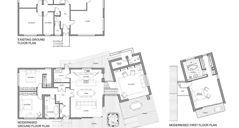 Murphy House Extensions Existing Plans