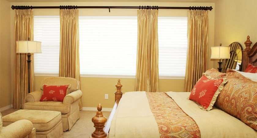 Natural Bedroom Curtains Ideas