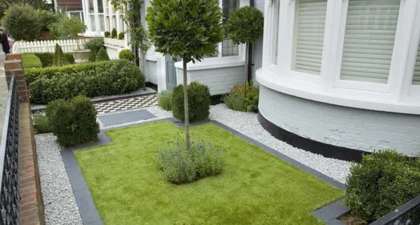 Natural Walking Space Small Garden Landscaping Ideas