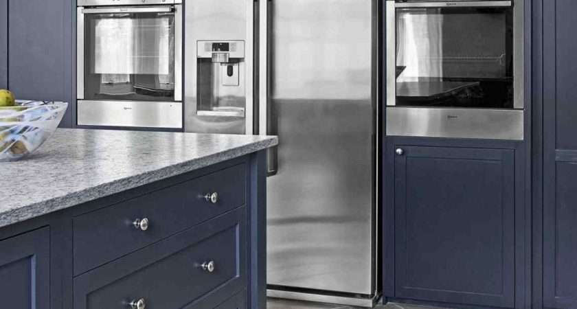 Navy Blue Painted Cabinets Deductour